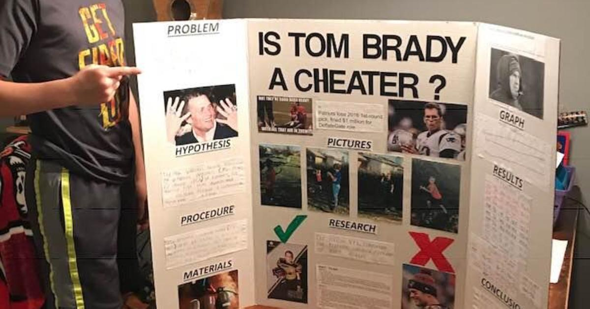 Tom Brady a cheater? 10-year old Ace Davis' science fair project