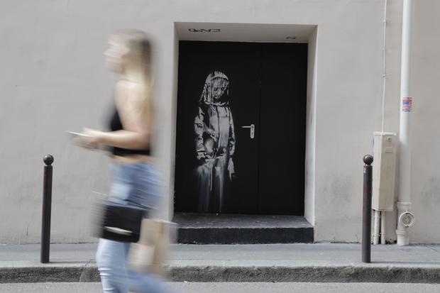 FRANCE-STREET-ART-BANKSY