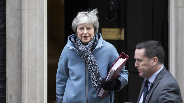 Theresa May Attends Prime Minster's Questions