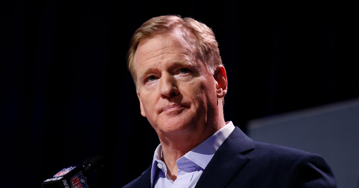 """We were wrong,"" NFL Commissioner Roger Goodell says"