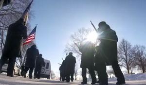 Volunteers brave brutal cold to honor veterans buried in Minnesota