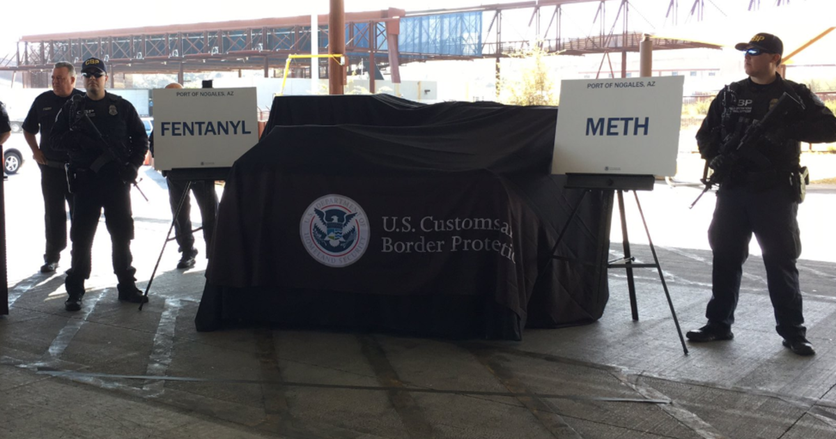 U S  border agency says it's made biggest-ever fentanyl bust