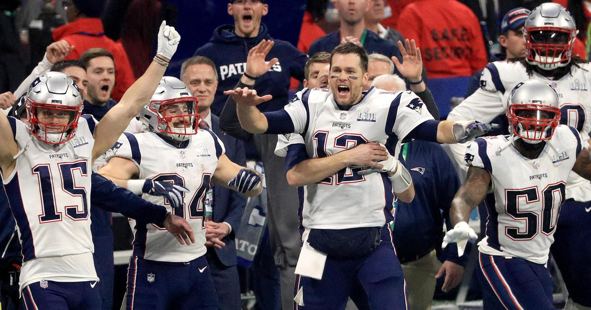 7d372fd2e11 Super Bowl 2019  New England Patriots win