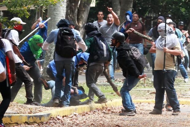 VENEZUELA-POLITICS-PROTEST
