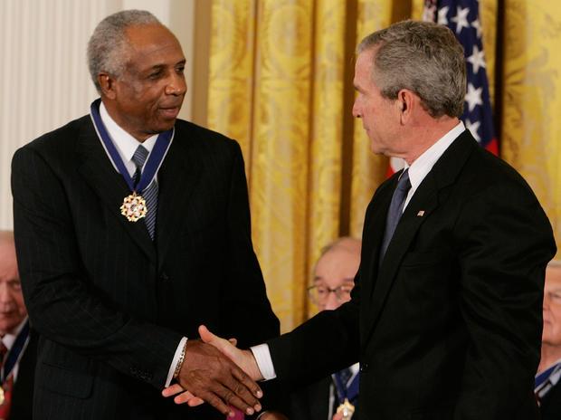 George W. Bush, Frank Robinson