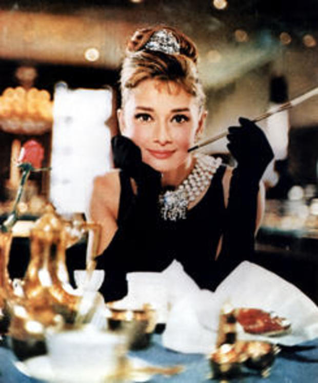 BREAKFASY AT TIFFANYS 1961 Paramount film with Audrey Hepburn. Image shot 1961. Exact date unknown.