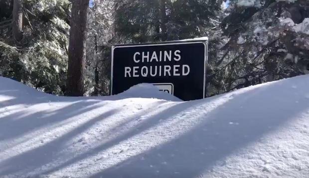 California Snowbound