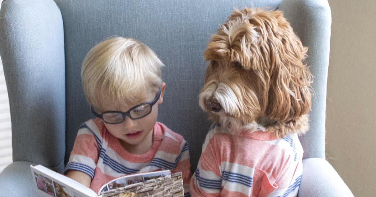 True love: A boy and a dog