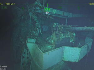 Fabled WWII aircraft carrier discovered 77 years after it was sunk