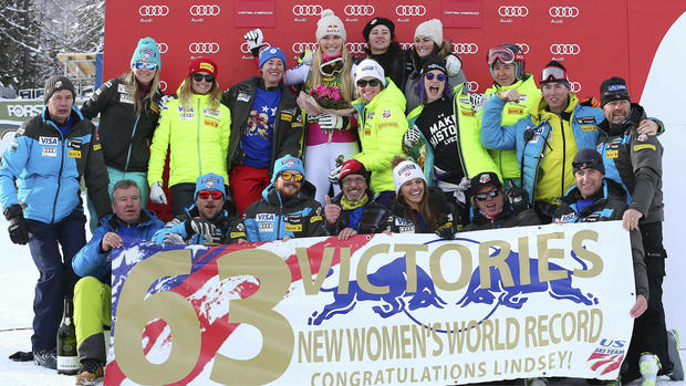 Skiing Vonn Retirement Photo Gallery