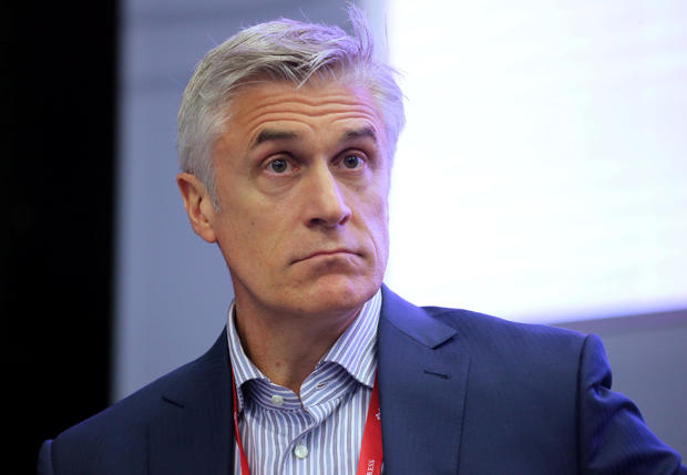 Michael Calvey, senior partner at Baring Vostok, attends a session of the St. Petersburg International Economic Forum