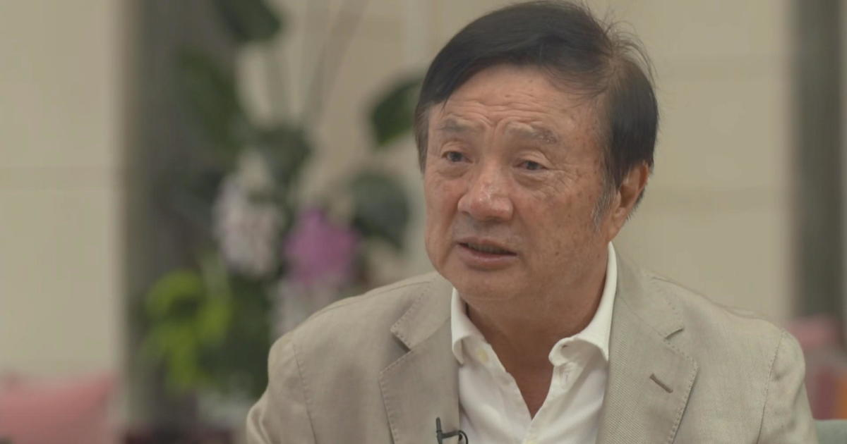 """Huawei CEO Ren Zhengfei: """"We will never"""" provide Chinese government with any information"""