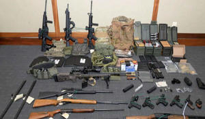 Coast Guard lieutenant arrested on weapons charges, allegedly had hit list