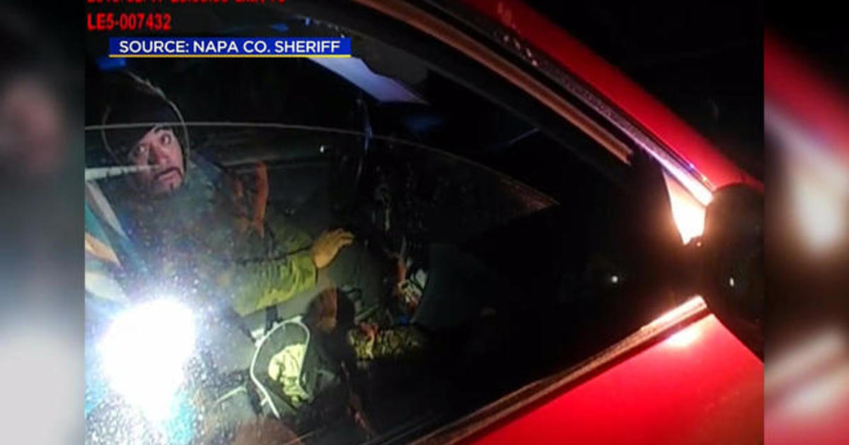 Napa County: California sheriff releases graphic video of deputy fatally shooting suspect - CBS News