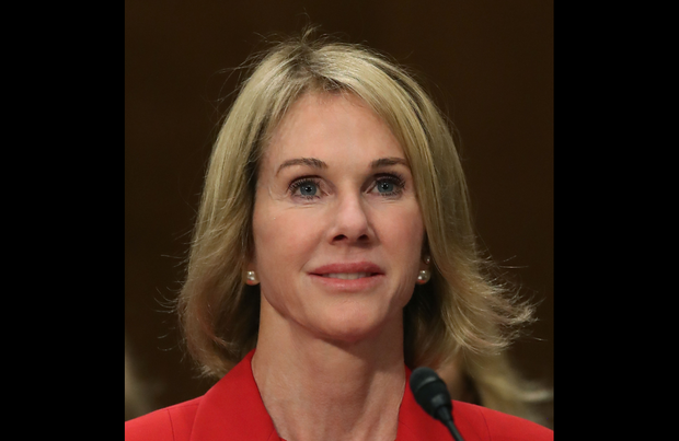 Kelly Knight Craft testifies during her confirmation hearing to be U.S. ambassador to Canada during a Senate Foreign Relations Committee hearing on Capitol Hill, June 20, 2017, in Washington.