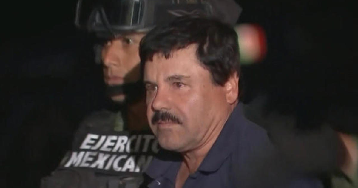 El Chapo's sons — Joaquin Guzman Lopez and Ovidio Guzman Lopez — charged with drug trafficking, Department of Justice says - CBS News