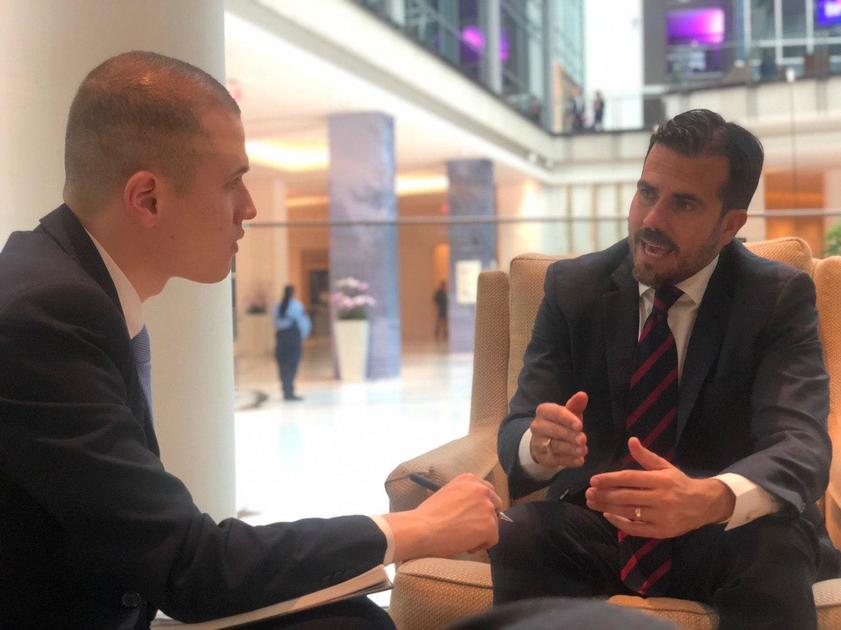 Transcript: CBS News interviews Ricardo Rosselló, Puerto Rico's
