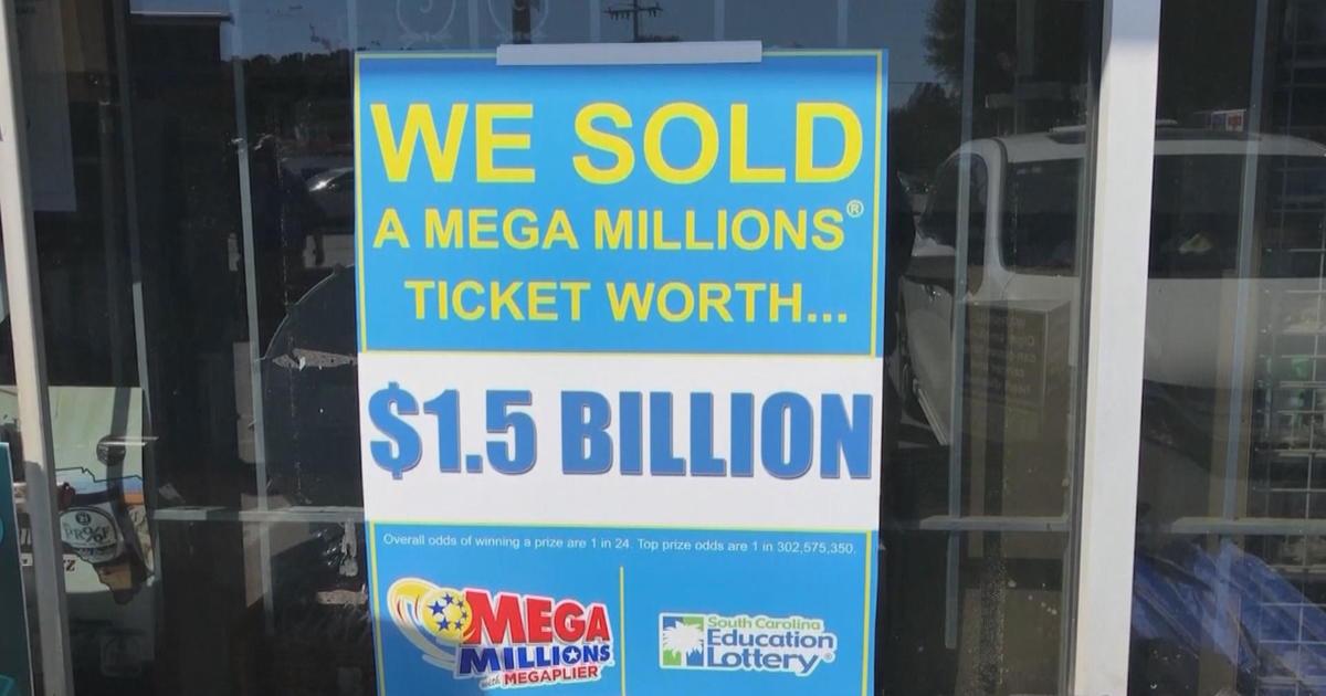 Mega Millions Winner In South Carolina Claims 1 5 Billion Jackpot Cbs News