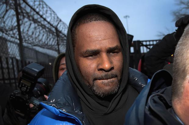 R. Kelly leaves jail