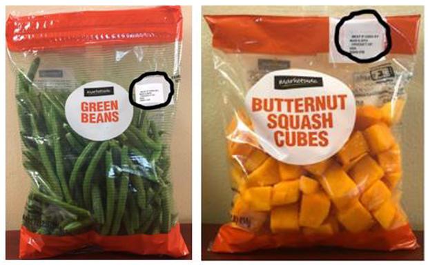 Green beans, squash recall: Walmart stores pull Marketside