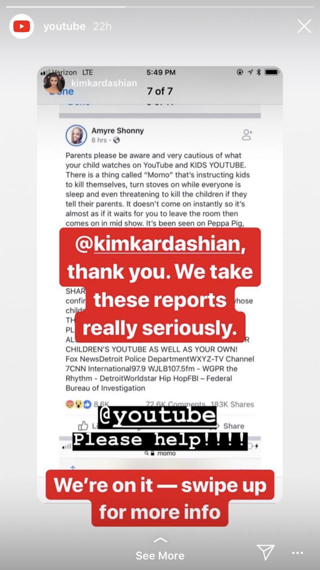 07defbd85067 Kim Kardashian warns parents of dangerous