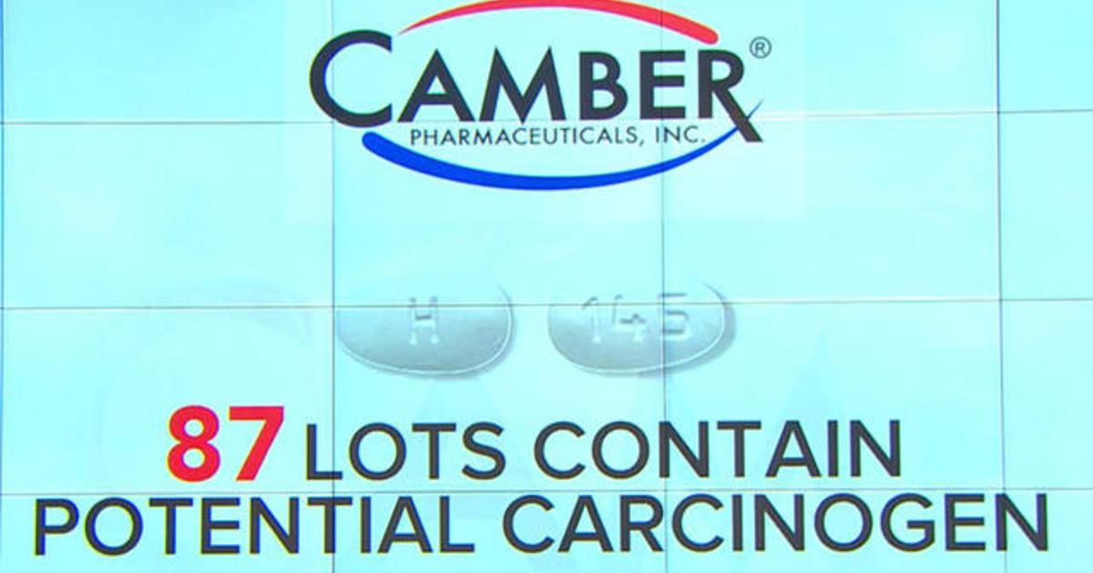 Blood pressure drug Losartan recalled