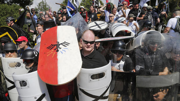 Far Right Rallies Police