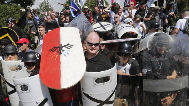 Far Right Rallies Police