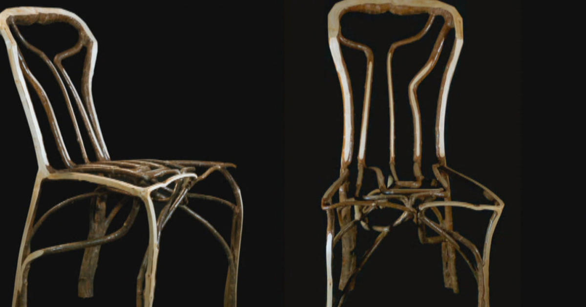 Merveilleux Harvesting Chairs: How An English Craftsman Shapes Furniture From The  Ground Up
