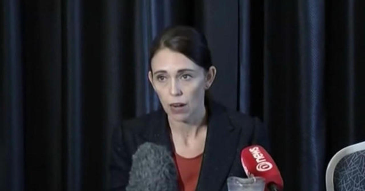 New Zealand's prime minister speaks after mass shooting