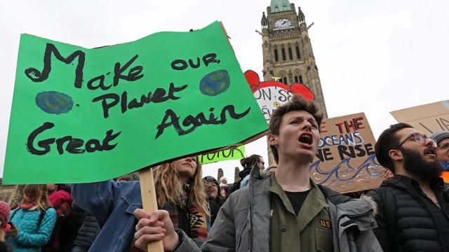 BRITAIN-POLITICS-ENVIRONMENT-CLIMATE-DEMONSTRATION