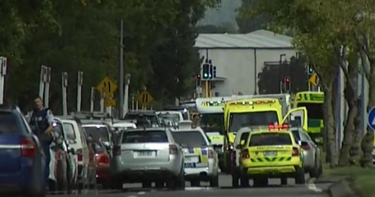 Mass shooting at Christchurch mosque - CBS News