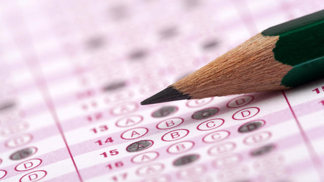 SAT standardized test - college admissions exam