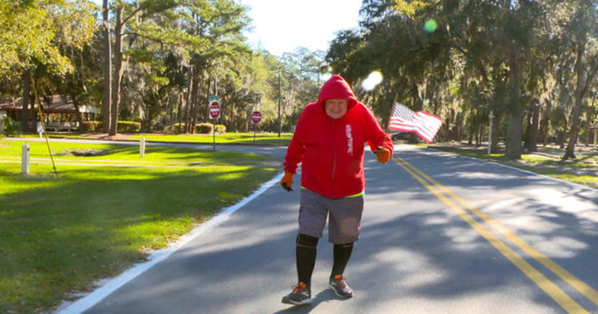 WWII veteran prepares to run across the country a second time