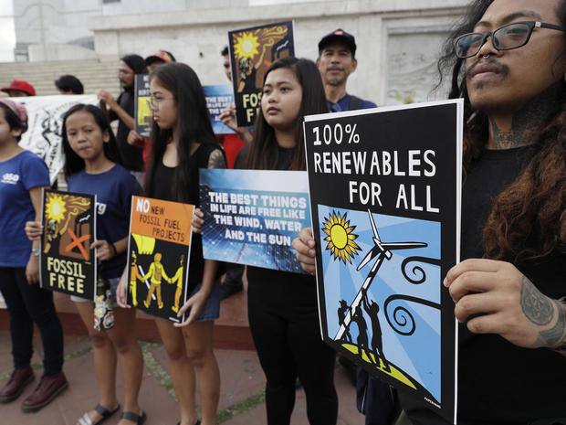 Philippines Climate Student Protest