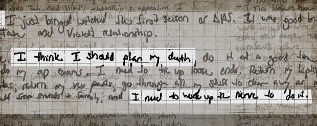 Teen suicide: A lost girl's diary - The hidden anguish of