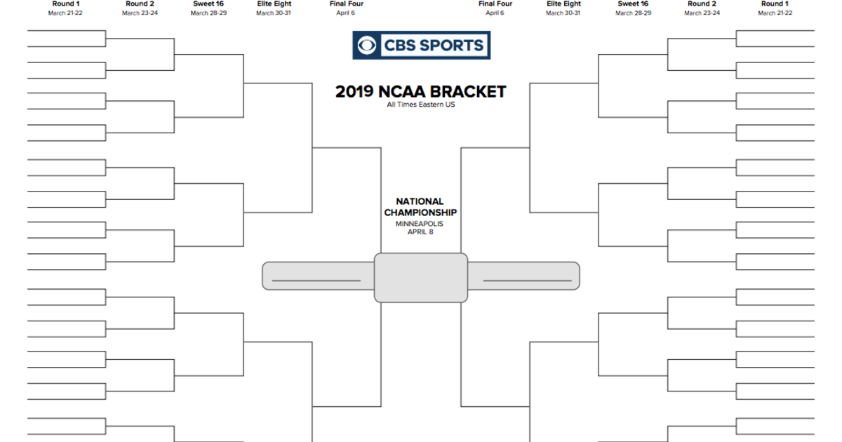 It's just a picture of Universal March Madness Printable Bracket