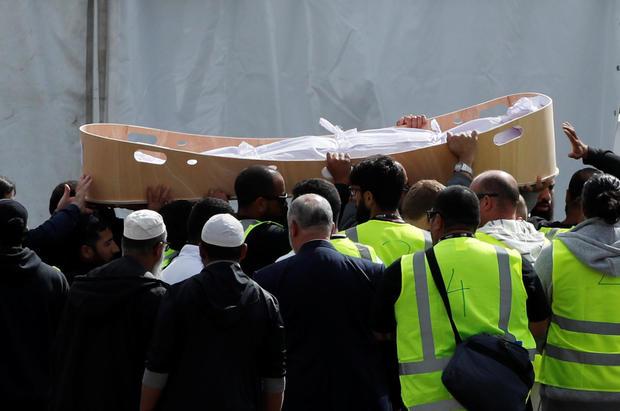 mosque shooting — funerals —  Christchurch, New Zealand