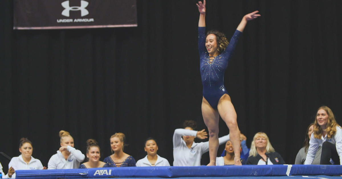 """Katelyn Ohashi, UCLA gymnast, on her electrifying floor routines: """"What you see is literally how I feel"""""""