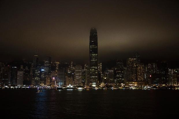 HONG KONG-ENVIRONMENT-EARTH-HOUR