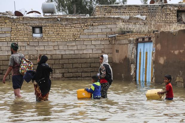 IRAN-FLOOD-WEATHER