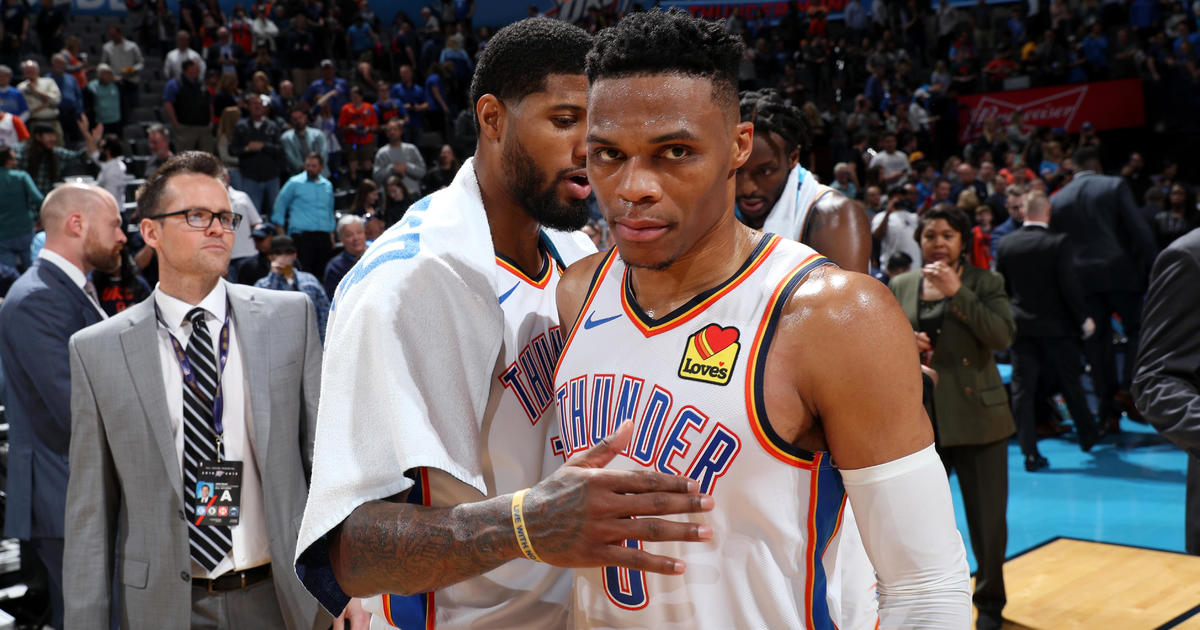 33b2861b141 Russell Westbrook Nipsey Hussle: Oklahoma City Thunder honors rapper with  historic