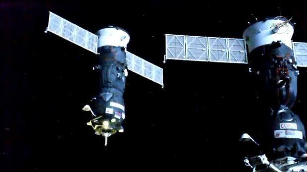 Russian supply ship heads for space station