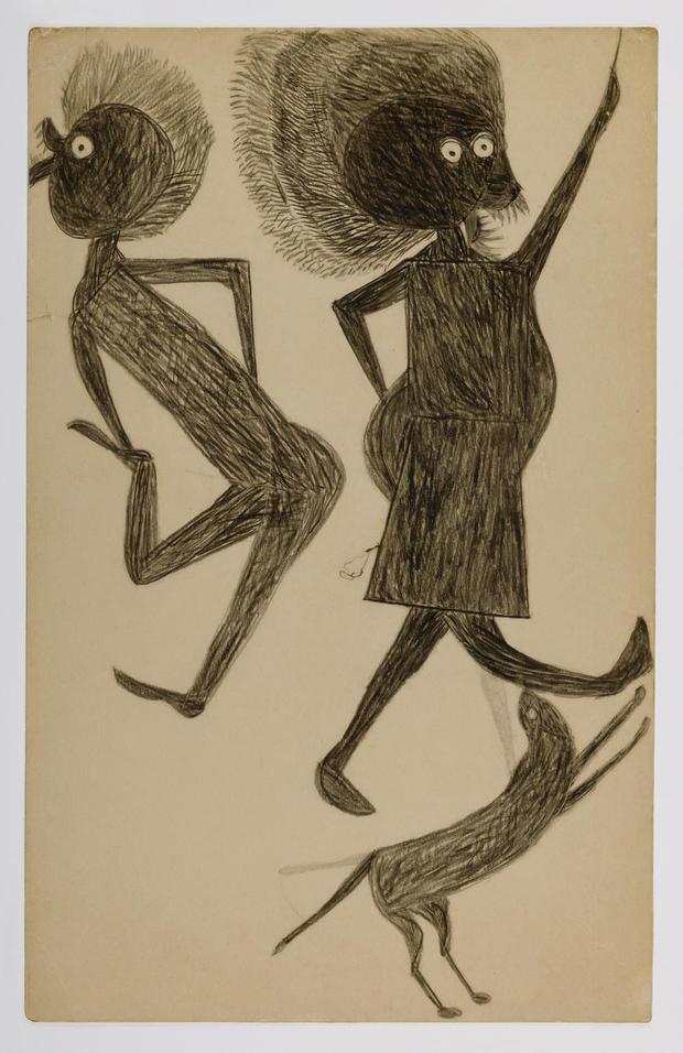 bill-traylor-gallery-man-woman-dog.jpg