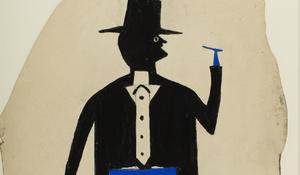 bill-traylor-gallery-promo-man-in-black-and-blue-with-cigar-and-suitcase.jpg