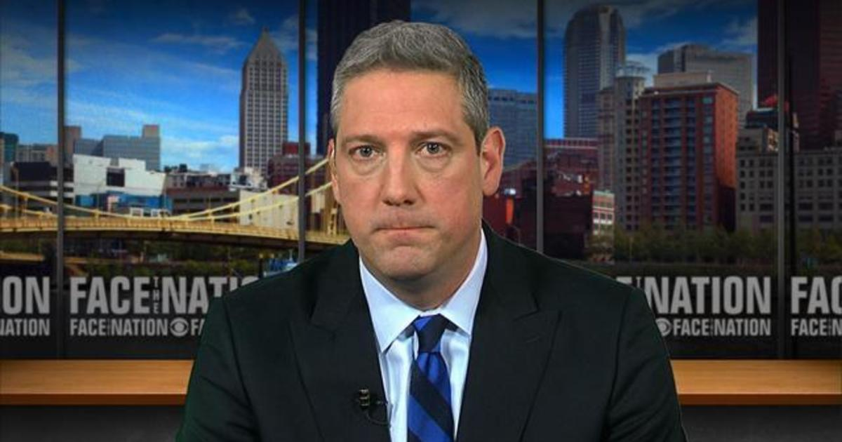 """Tim Ryan Says """"listening To Each Other"""" Key To Unifying"""