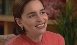 "Emilia Clarke on ""Game of Thrones"" and her near-death experience"