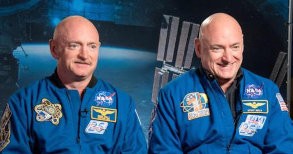 1a445338 Astronaut twins study finds no major medical obstacles to long-term space  missions - CBS News