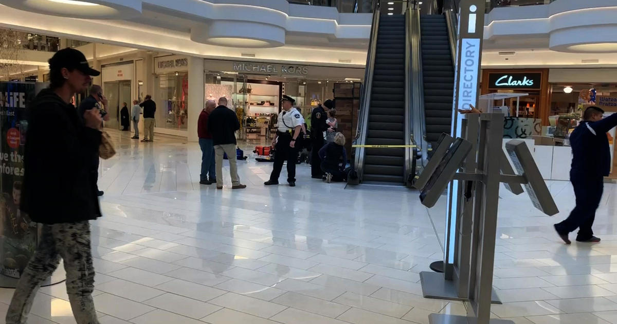 Child thrown from Mall of America balcony showing