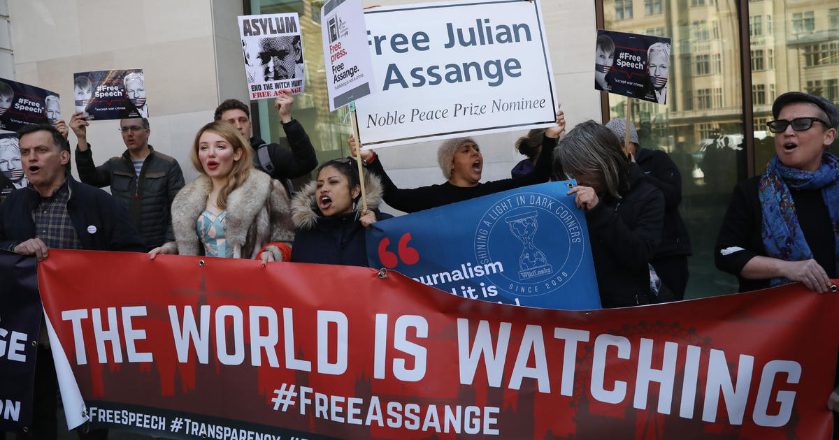 Julian Assange, defiant WikiLeaks boss jailed as extradition battle begins
